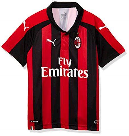 Puma AC Milan Kids SS Home Shirt 2018 19 Image 32aedf022