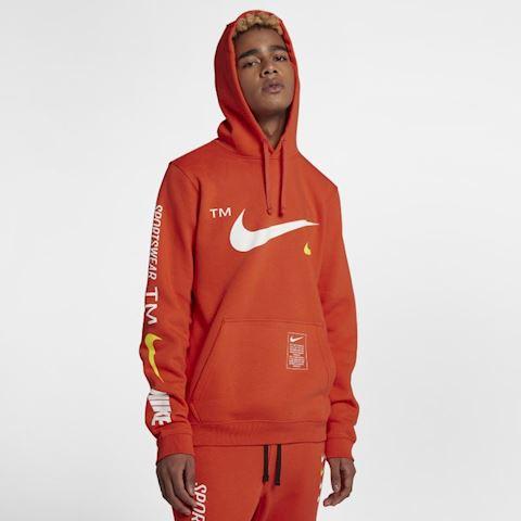 Nike Sportswear Club Pullover Hoodie - Orange Image