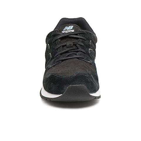 New Balance  WL520  women's Shoes (Trainers) in Black Image 3