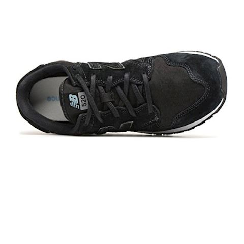 New Balance  WL520  women's Shoes (Trainers) in Black Image 5