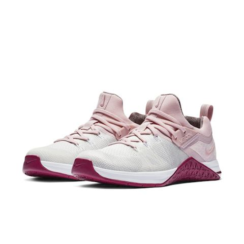 promo code 1b58a eca44 Nike Metcon Flyknit 3 Women s Cross-Training Weightlifting Shoe - White  Image 2