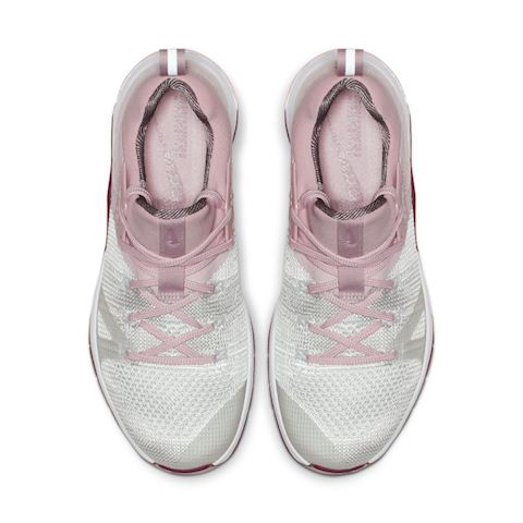 uk availability 7ce78 9a766 Nike Metcon Flyknit 3 Women s Cross-Training Weightlifting Shoe - White  Image 4