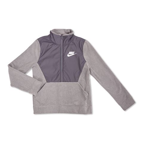 Nike Jacket NSW Winterized 1/2 Zip - Carbon Heather/Dark Grey Kids Image