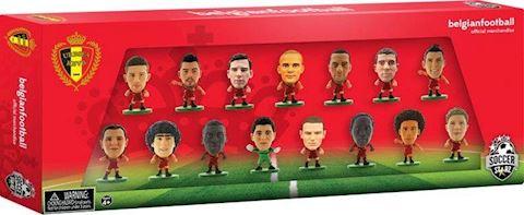 SoccerStarz - Belgium 15 Team Figurine Pack. Image