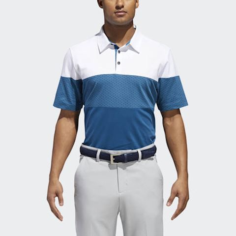 adidas Adipure Mixed Piece Polo Shirt Image