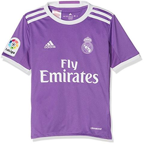 adidas Real Madrid Kids SS Away Shirt 2016/17