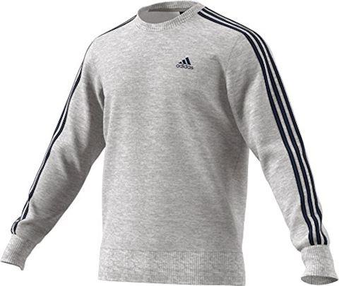 adidas Essentials 3-Stripes Crew Sweatshirt Image