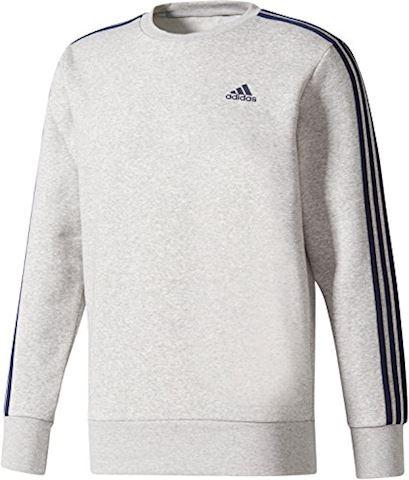 adidas Essentials 3-Stripes Crew Sweatshirt Image 3