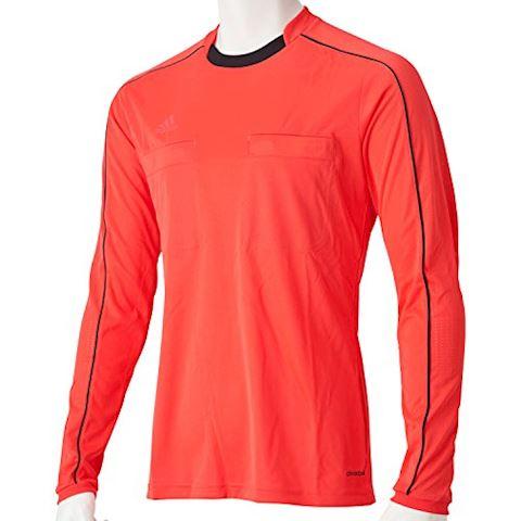 adidas Referee 16 LS Jersey Shock Red Black Image 4