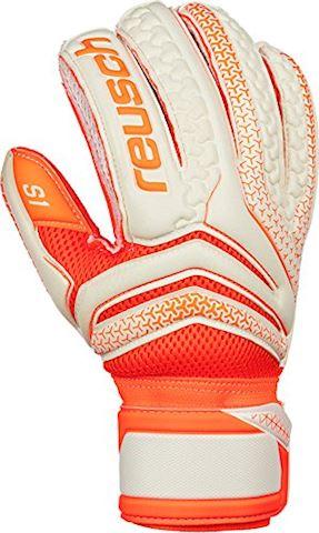 Reusch Goalkeeper Gloves Serathor Prime S1 - White/Shocking Orange Image