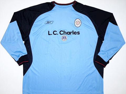 Reebok Crewe Alexandra Mens LS Goalkeeper Home Shirt 2003/04 Image