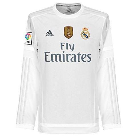 adidas Real Madrid Mens LS Home Shirt 2015/16 Image