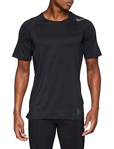 Nike Pro HyperCool Men's Short-Sleeve Training Top - Black Image