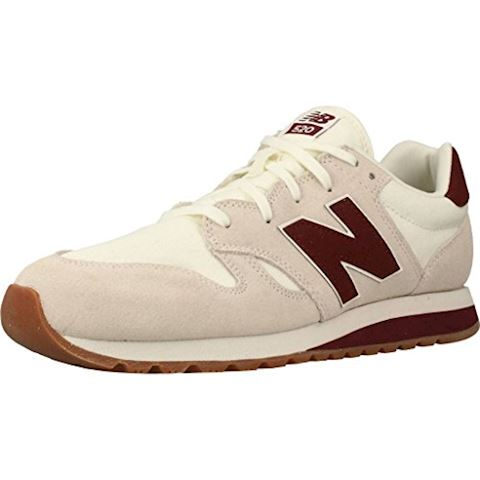 New Balance  U520  women's Shoes (Trainers) in Beige Image