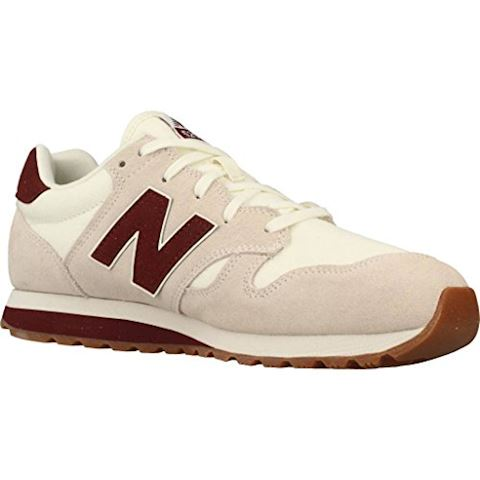 New Balance  U520  women's Shoes (Trainers) in Beige Image 5