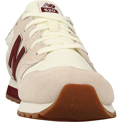 New Balance  U520  women's Shoes (Trainers) in Beige Image 6
