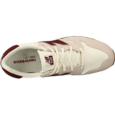 New Balance  U520  women's Shoes (Trainers) in Beige Image 8
