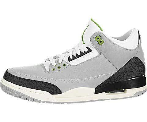 Nike Air Jordan 3 Retro Men's Shoe - Grey Image