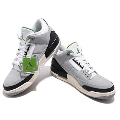 Nike Air Jordan 3 Retro Men's Shoe - Grey Image 11