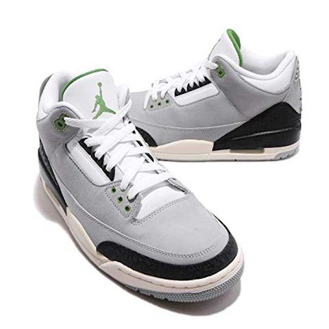 Nike Air Jordan 3 Retro Men's Shoe - Grey Image 12