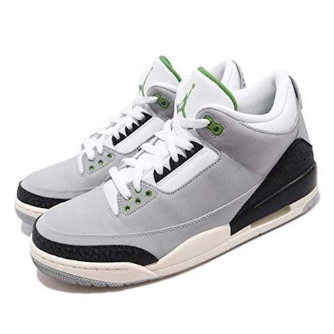 Nike Air Jordan 3 Retro Men's Shoe - Grey Image 13