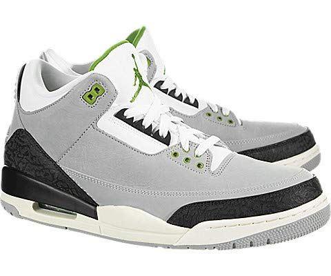 Nike Air Jordan 3 Retro Men's Shoe - Grey Image 2