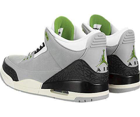 Nike Air Jordan 3 Retro Men's Shoe - Grey Image 4