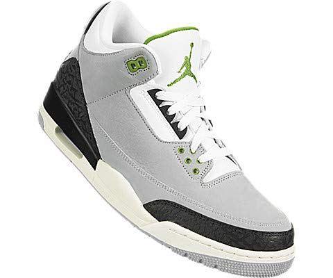 Nike Air Jordan 3 Retro Men's Shoe - Grey Image 5