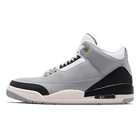 Nike Air Jordan 3 Retro Men's Shoe - Grey Image 6