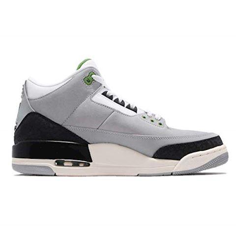 Nike Air Jordan 3 Retro Men's Shoe - Grey Image 7