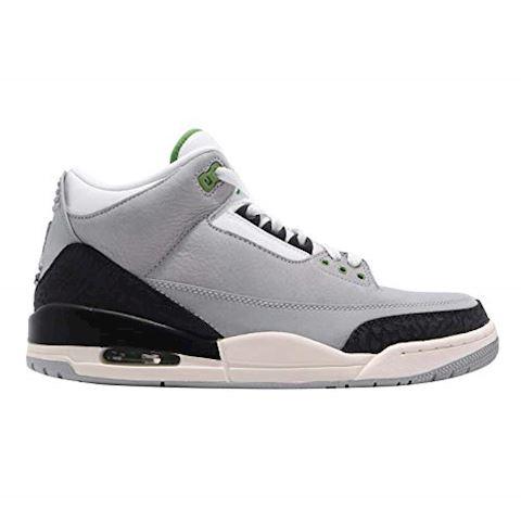 Nike Air Jordan 3 Retro Men's Shoe - Grey Image 10