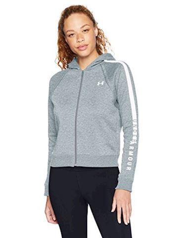 Under Armour Women's UA Rival Fleece Full Zip Hoodie Image