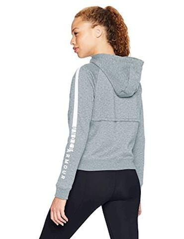 Under Armour Women's UA Rival Fleece Full Zip Hoodie Image 2