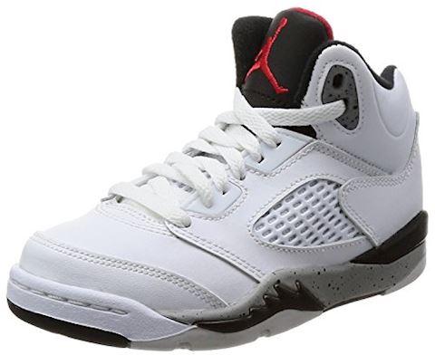 Nike Air Jordan 5 Retro Younger Kids' Shoe - Red Image
