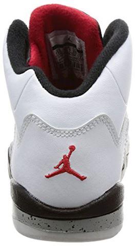 Nike Air Jordan 5 Retro Younger Kids' Shoe - Red Image 2