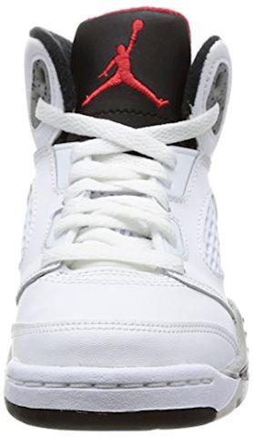 Nike Air Jordan 5 Retro Younger Kids' Shoe - Red Image 4