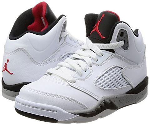 Nike Air Jordan 5 Retro Younger Kids' Shoe - Red Image 5