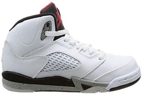Nike Air Jordan 5 Retro Younger Kids' Shoe - Red Image 6