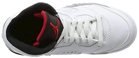 Nike Air Jordan 5 Retro Younger Kids' Shoe - Red Image 7