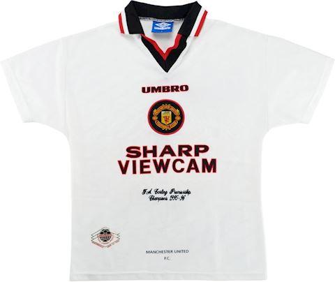 Umbro Manchester United Mens SS Away Shirt 1996/97 Image 2