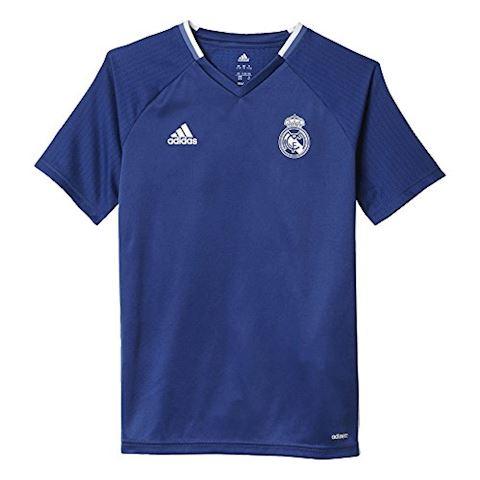 adidas Real Madrid Training T-Shirt - Raw Purple/Crystal White Kids Image