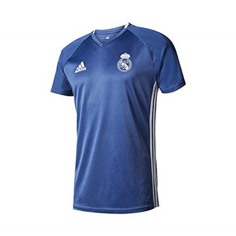 adidas Real Madrid Training T-Shirt - Raw Purple/Crystal White Kids Image 2