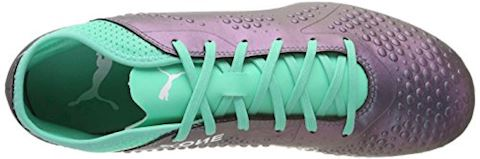 PUMA One 4 SYN FG Illuminate Pack - Color Shift/Biscay Green Image 7