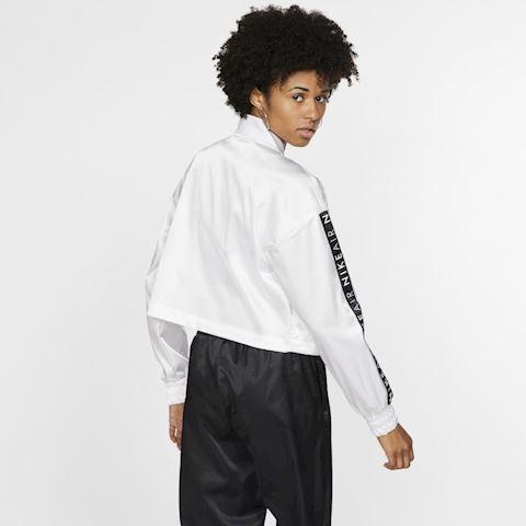 e9025294a Nike Air Women's Satin Track Jacket - White