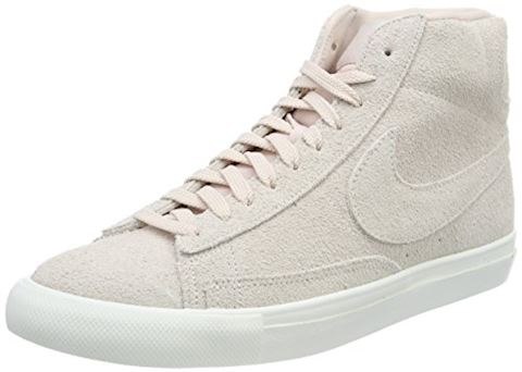 Nike  BLAZER MID  men's Shoes (High-top Trainers) in Pink Image
