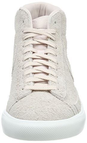 Nike  BLAZER MID  men's Shoes (High-top Trainers) in Pink Image 11