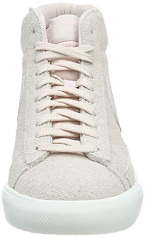 Nike  BLAZER MID  men's Shoes (High-top Trainers) in Pink Image 4