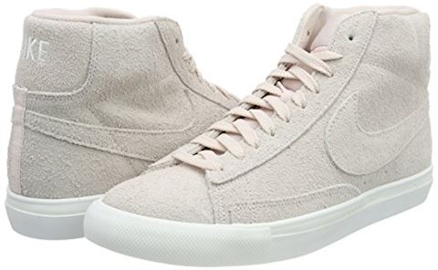 Nike  BLAZER MID  men's Shoes (High-top Trainers) in Pink Image 5