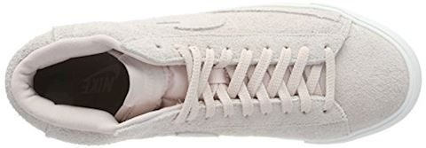 Nike  BLAZER MID  men's Shoes (High-top Trainers) in Pink Image 7