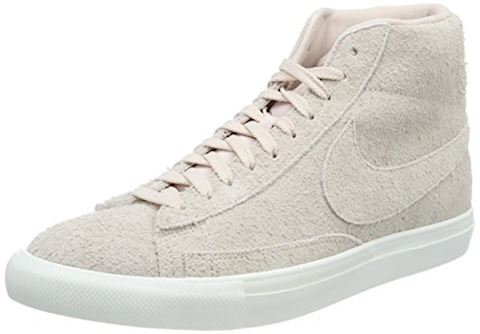 Nike  BLAZER MID  men's Shoes (High-top Trainers) in Pink Image 8